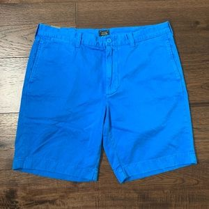 NWT J. Crew Men's Blue Stanton Shorts